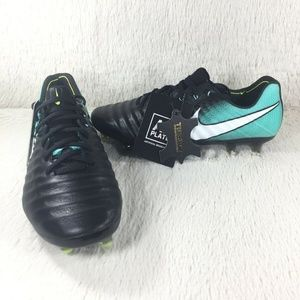 NEW Nike Tiempo Legend VII AG Flyknit Cleats Sz 8